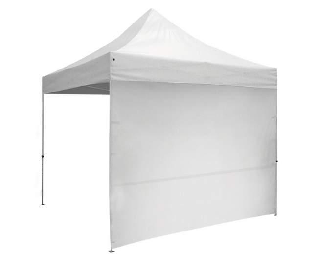 3m oldalfal fehér oldalponyva rendezvény sátorhoz