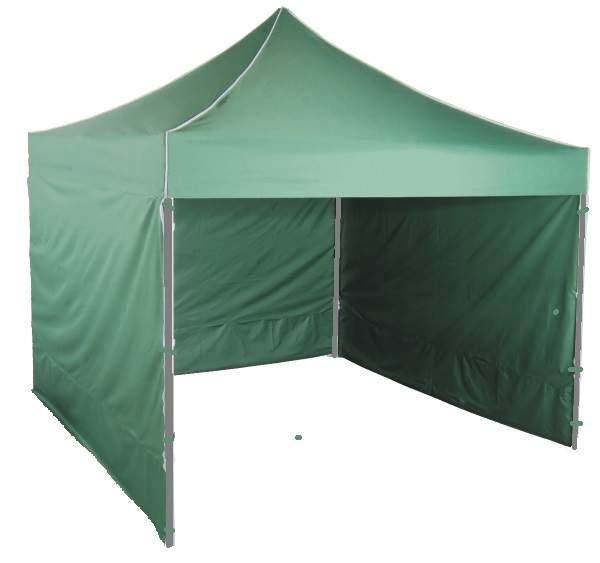 6m oldalfal zöld oldalponyva rendezvény sátorhoz