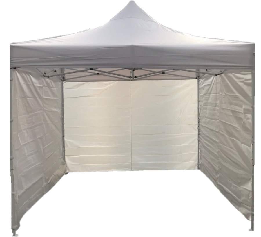 9m oldalfal fehér oldalponyva rendezvény sátorhoz