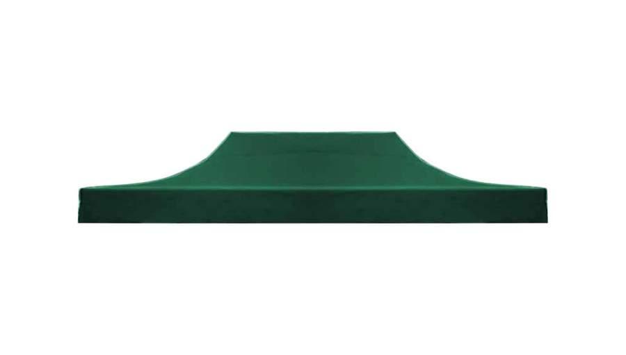 3x2 tetőponyva kerti pavilonhoz rendezvény piaci horgász sátorhoz zöld