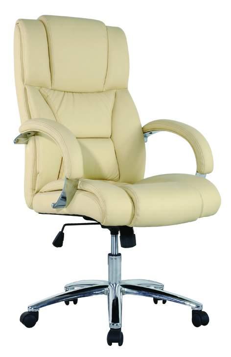 BEIGE bézs ergonomic főnöki fotel irodai szék forgószék erős