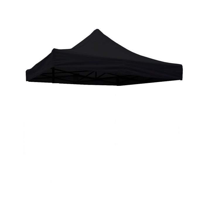 3x3-as tetőponyva rendezvény sátorhoz (csak tetőponyva) fekete