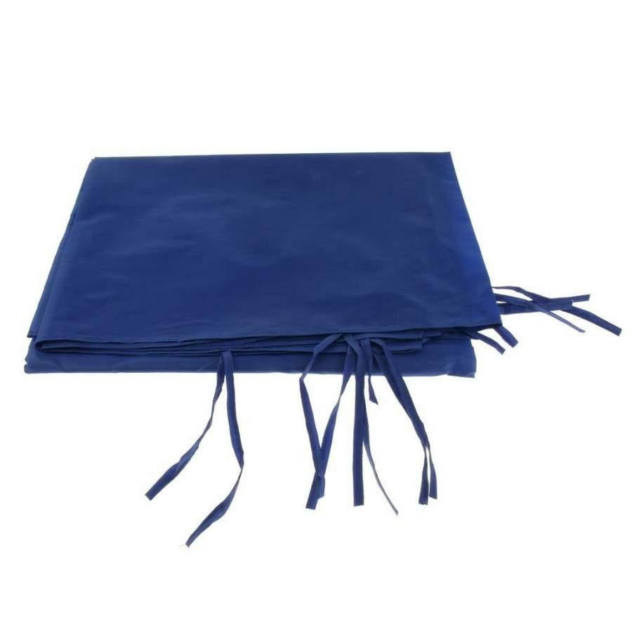 4,5m oldalfal kék oldalponyva rendezvény sátorhoz