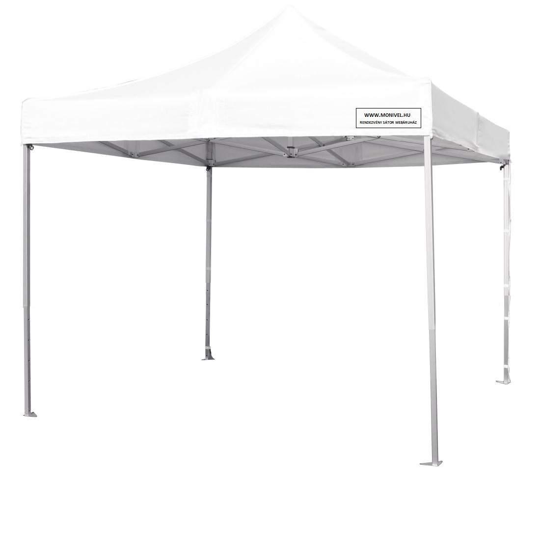 Alumínium 3x3 rendezvény sátor árusító piaci horgász pop up