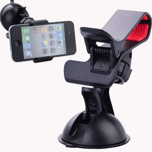 Univerzális csipeszes autós telefontartó GPS tartó szélvédőre