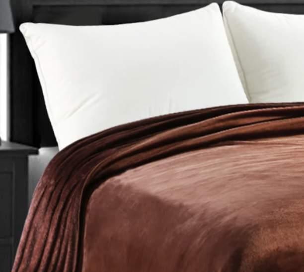 Barna 200x230cm puha takaró wellsoft ágytakaró