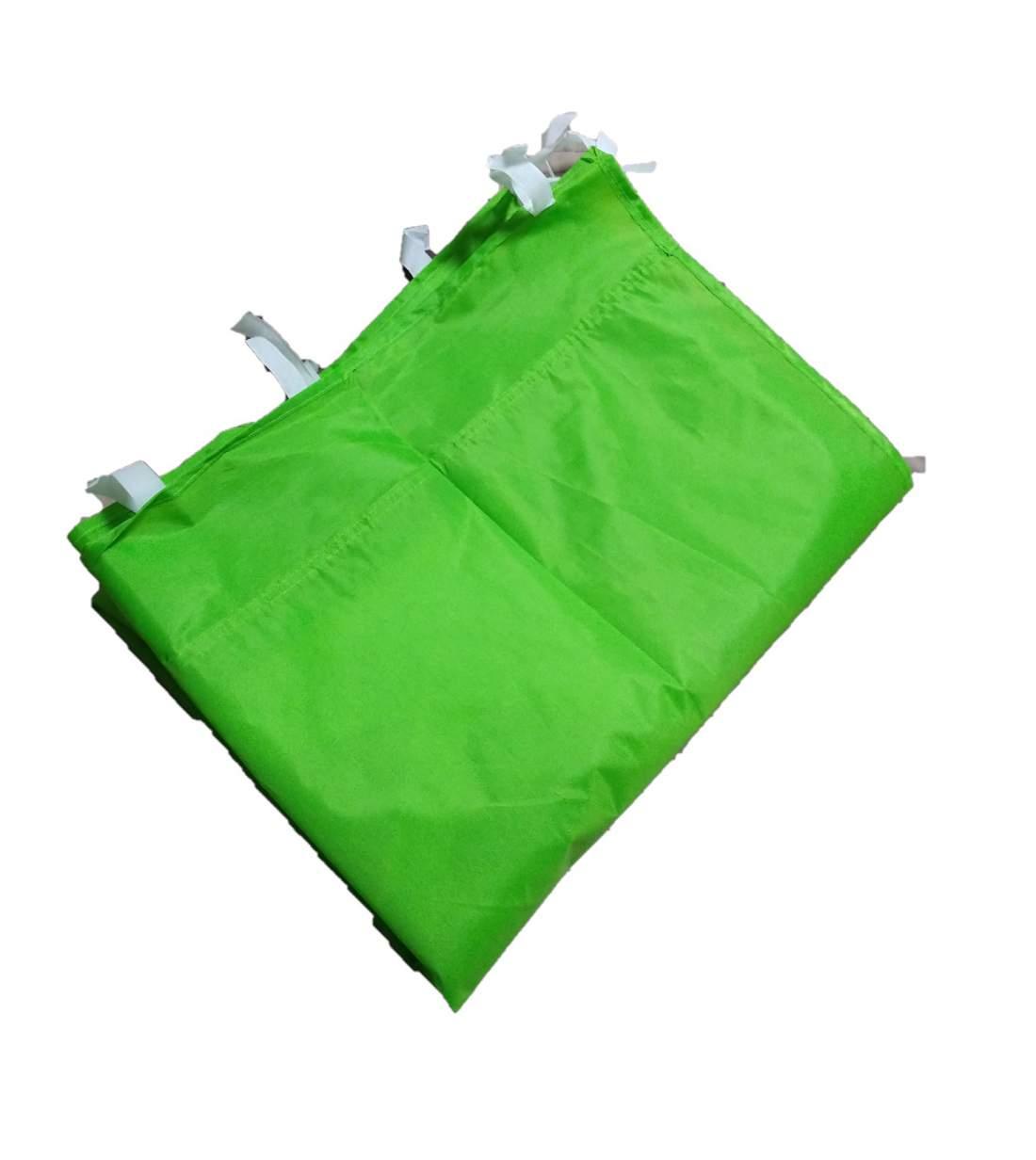 9m tépőzáras oldalfal lime zöld oldalponyva rendezvény sátorhoz